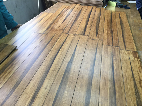 four side wax flooring