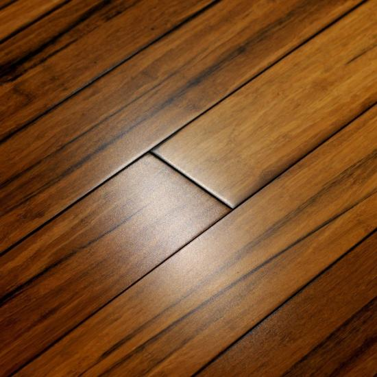 Black Wire Strand Woven Natural Bamboo Flooring