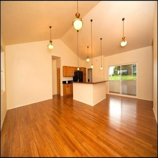 Smooth Strand Woven Carbonized Bamboo Flooring